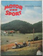 MOTOR Und SPORT September 1940 Heft 37 True Vintage Historisch Nostalgie Pur - Cars & Transportation