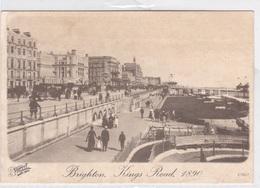 BRIGHTON KINGS ROAD 1890  AUTENTICA 100% - Inghilterra