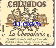 Calvados La Chevalerie - Etiquettes