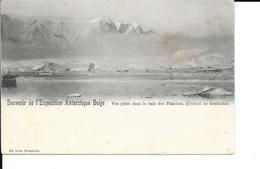 Expedition Polaire Antarctique - Souvenir De L'Expédition Antarctique Belge - NELS - 2 Scans. - Missions