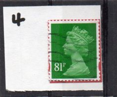 GB 2009-date 81pSECURITY MACHIN Used Code M14L MAIL - Machins