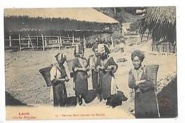 LAOS -   Femmes Méos Revenant Du Marché   ##  RARE ##   -   L 1 - Laos