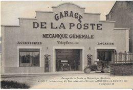 AMBERIEU-EN-BUGEY 01 AIN GARAGE DE LA POSTE MÉCANIQUE GÉNÉRALE A. JOLY RUE A. BERARD AUTO POMPE ESSENCE - France