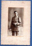 Photo Grand Format  --  Soldat Français  -- Atelier A Esquiro  -  Bordeaux - Guerre, Militaire