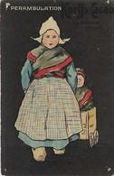 Thèmes, Illustrateurs, Raphael Tuck, Perambulation Korff's Cacao, Amsterdam HOLLAND, Scan Recto-Verso - Tuck, Raphael