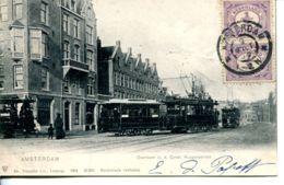 N°65671 -cpa Amsterdam -Overtoom Const Huygensstraat- - Amsterdam