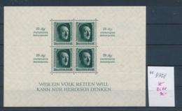 D.Reich - Block  11   (ze9958  ) Siehe Scan - Deutschland