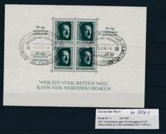 D.Reich - Block  11   (ze9961  ) Siehe Scan - Deutschland