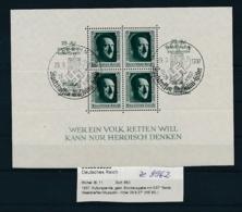 D.Reich - Block  11   (ze9962  ) Siehe Scan - Blocks & Kleinbögen