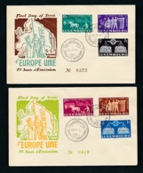 Luxemburg  FDC  478-83   (oo6566  ) Siehe Scan - FDC