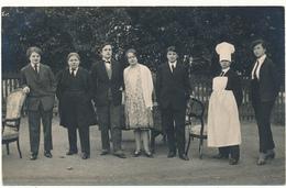 LA ROCHE SUR YON - Carte Photo, 1928 - Ecole Normale De Jeunes Filles - Photo. G. Guillet - La Roche Sur Yon