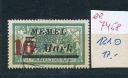 Memel Nr. 121     (ee7458  ) Siehe Scan - Klaipeda