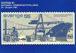 Gothia  81  Sweden.  Stamp Exhibition 1981   B-3334 - Stamps (pictures)