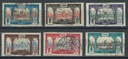 Gabon Yv. 56-61, Mi 58, 60, 62-66 - Oblitérés