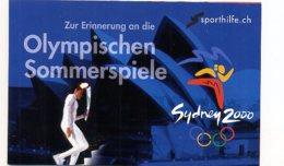 A22369)Olympia 92: Schweiz 1735 - 1737 Sporthilfe-MH** - Ete 1992: Barcelone