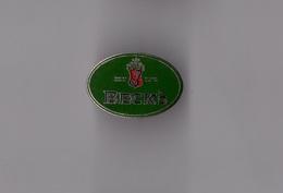 Pin's Bière Beck's (logo EGF) Longueur: 2,4 Cm - Beer