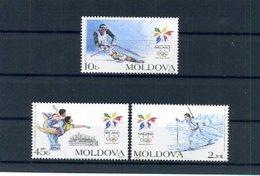 A22473)Olympia 98: Moldavien 263 - 265** - Winter 1998: Nagano