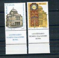 A22522)Italien 2973 - 2974 ZF** - 6. 1946-.. Republik
