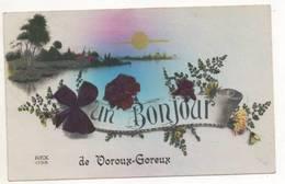 39587 -  Un Bonjour  De Voroux  Goreux - Fexhe-le-Haut-Clocher