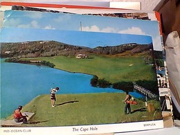 Bermuda: The Cape Hole. . . Mid-Ocean Golf Course STAMP  SELO TIMBRE 9 D Library  Historical 1965 GX5557 - Bermuda