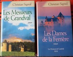 LES MESSIEURS DE GRANDVAL (Christian Signol) - Books, Magazines, Comics