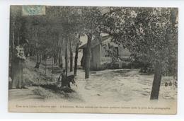 CPA 1907 LOIRE ROBINSON ANIME MAISON EMPORTEE PAR LA CRUE DE LA LOIRE BE TBE - France