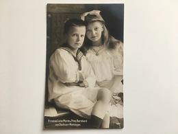 AK Adel Prinzess Luise Marie Und Prinz Bernhard Von Sachsen Meiningen Sachsen-Meiningen - Familles Royales