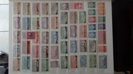 Belle Collection Des Anciennes Colonies Françaises  Tous états Dont 1 Feuille Entière ** De Tunisie - Collections (en Albums)