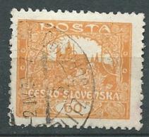 Tchecoslovaquie -- Yvert N° 38 Oblitéré   - Ah 29215 - Oblitérés