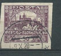 Tchecoslovaquie - Yvert N° 15   Oblitéré  -  Ah 29217 - Oblitérés