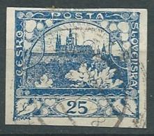Tchecoslovaquie - Yvert N°   10  Oblitéré    -  Ah 29224 - Oblitérés