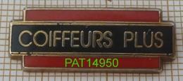 COIFFEURS PLUS COIFFEUR COIFFURE En ZAMAC - Badges