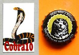 N°104  CAPSULE  Bière - Beer - Bier- Cerveza - Birra - Beer