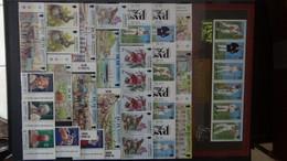 Timbres, Blocs, Bandes ** De Alderney,Jersey, Aland Et Autres Pays. - Collections (en Albums)
