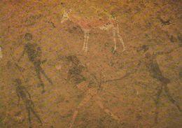 1 AK Namibia * Felsbilder Am Brandberg - Das Bekannteste Dieser Kunstwerke Ist Die Weiße Dame (White Lady) * - Namibia