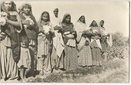 8Eb-203:Village Girls  / VILLAGE GIRLS West Pakinstan > St.Andries BE  1959 - Pakistan