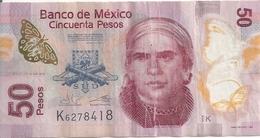 MEXIQUE 50 PESOS 2013 VF P 123A D - Mexique