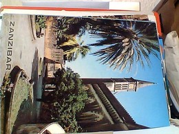 Africa Tanzania Zanzibar Cathedral Church, Site Of Ancient Slave Market STAMP SELO TIMBRE 4 INT YOUTH YEAR GX5562 - Tanzania