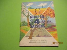 Mouli-Légumes/ FRANCOISE BERNARD/ Menus Des 4 Saisons/ La Famille Mouli Au Service De La Cuisine/Vers 1950      VPN163 - Gastronomie