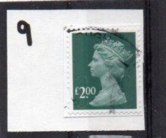 GB 2009-date £2 SECURITY MACHIN Used Code MAIL MAIL - 1952-.... (Elizabeth II)