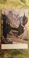 """KAZAKHSTAN. """"Abay Peak"""" - Old Pc 1952  - Rare! - Kazakhstan"""