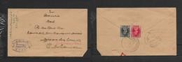 India, Domestic Letter, 1a3p, TIRUMANGALAM 2 JAN 41 > DEVAKOTTAI3 JAN 41 - 1936-47 King George VI