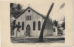 ILES GILBERT EGLISE APEMAMA 12 - Micronésie