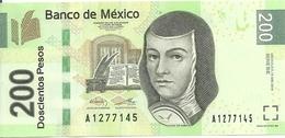 MEXIQUE 200 PESOS 2015 UNC P 125 New - Mexique