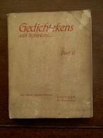OUD Boek         Gedichten Door ZUSTER Agnés - Alberttine   VISITATIE  ST _  AMANDSBERG - Poetry