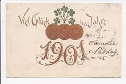 CPA Viel Glück Im Jahre 1901 - Nouvel An