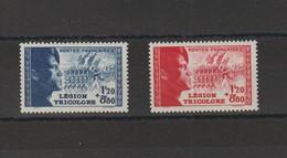 FRANCE 1942 N° 565 à 566 ** - Unused Stamps