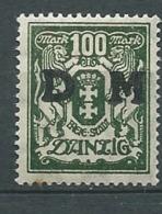 Dantzig - Service - Yvert N° 32   *   - Ah 29303 - Dantzig