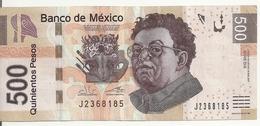 MEXIQUE 500 PESOS 2017 VF P 126 - Mexique