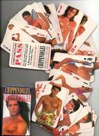 Chippendales 1991    Speelkaarten Jeu De Cartes Playing Cards Spielkarten  Erotisch Erotique Erotic - Speelkaarten